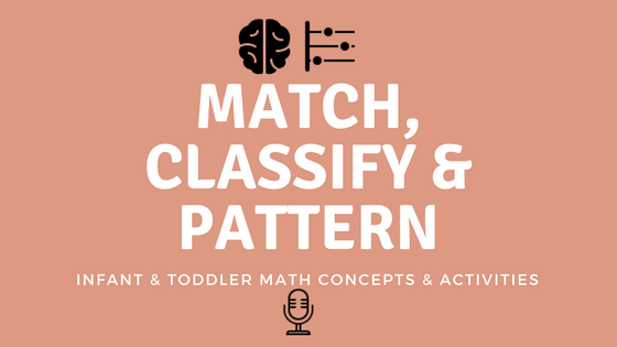 Infant & Toddler Math Concepts and Activities