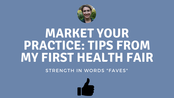Market Your Practice: Top 10 Tips From My First Health Fair