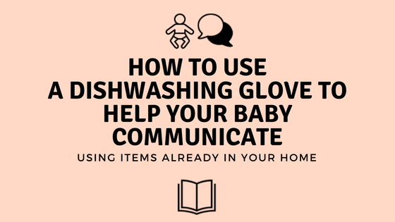 DIY Dishwashing Glove Puppet