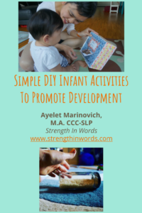 free e book simple diy infant activities strength in words