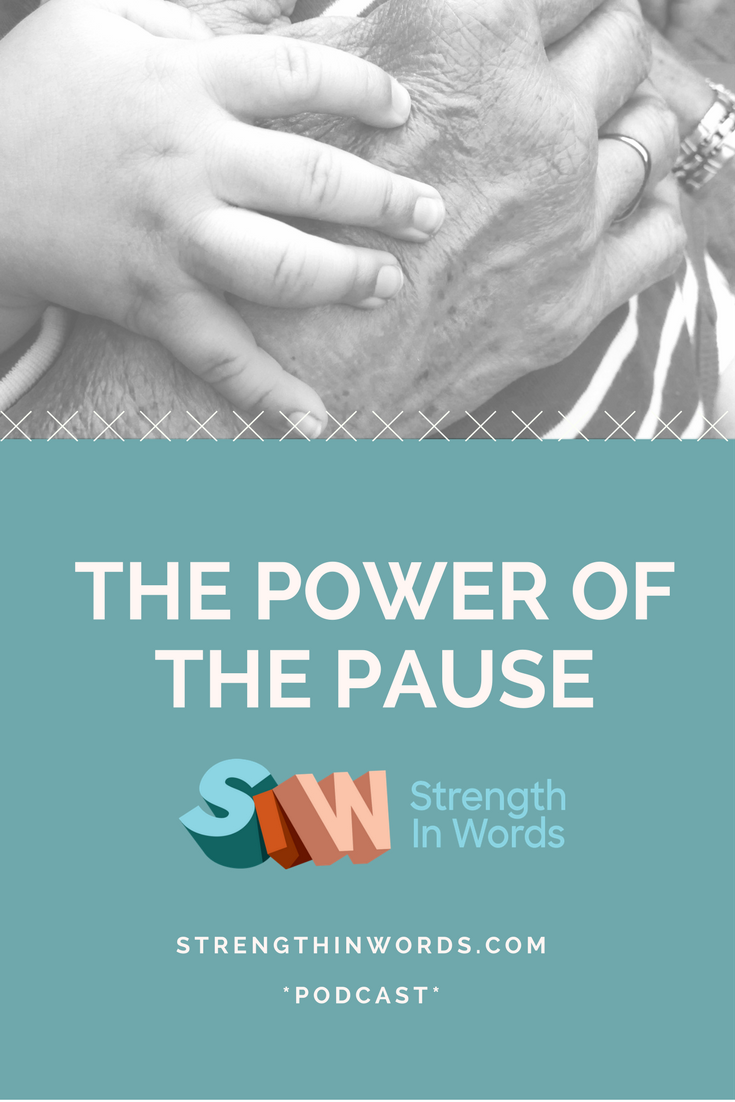 Why Pausing Works: An Early Communication Tool - Strength In