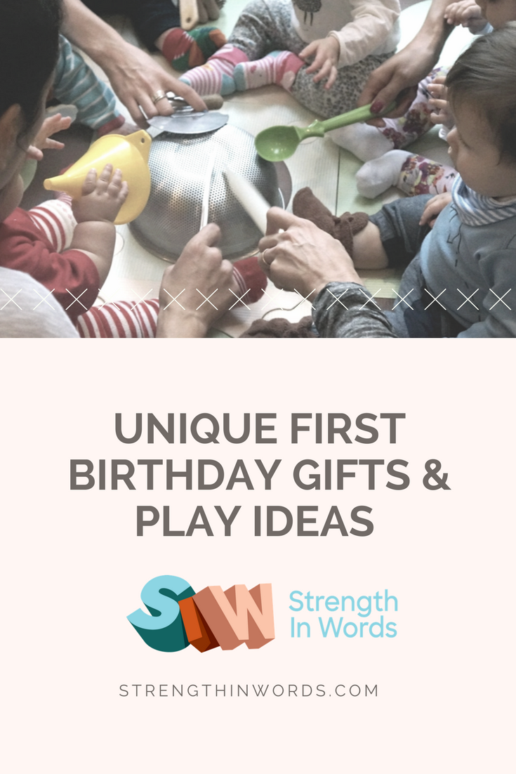 We Want To Find Unique First Birthday Gifts For The Little People In Our Lives