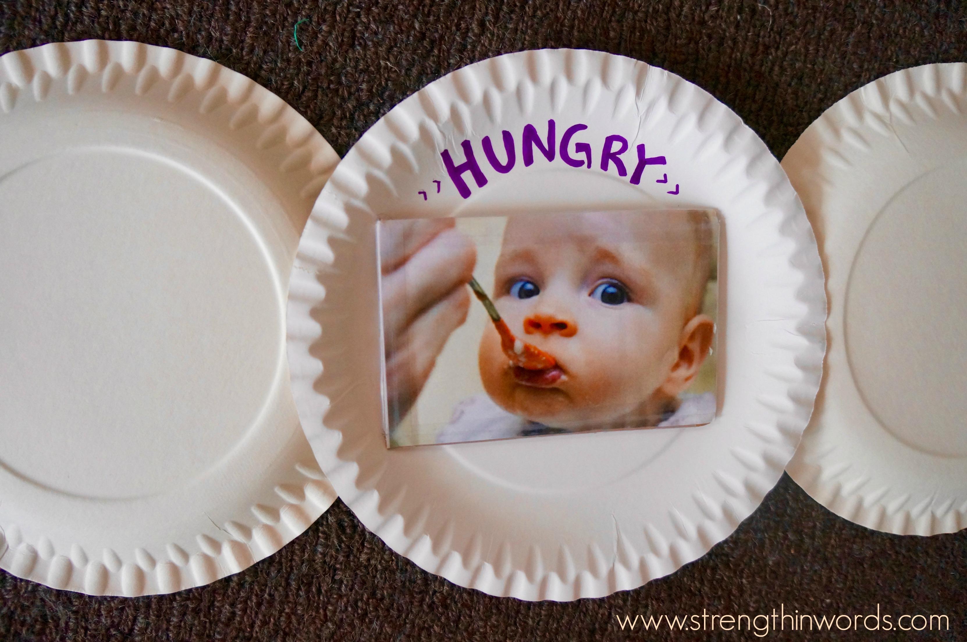 Pin It on Pinterest. Strength In Words. DIY \u201cFeelings-Faces\u201d Plates & DIY \
