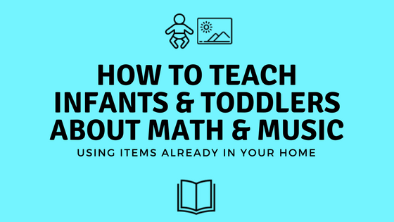 DIY Travel Math & Music Activities for Toddlers