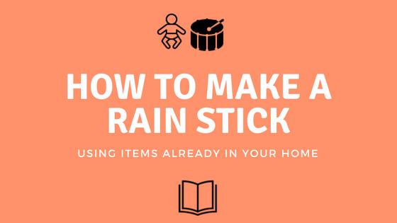 "DIY ""Rain Stick / Shaker"""