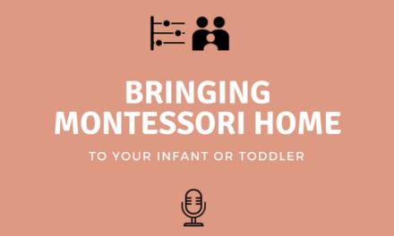 Bringing Montessori Home