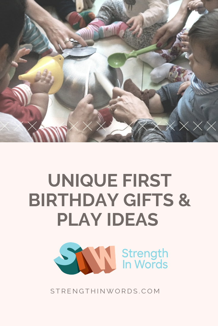 Pin It On Pinterest Strength In Words Unique First Birthday Gifts